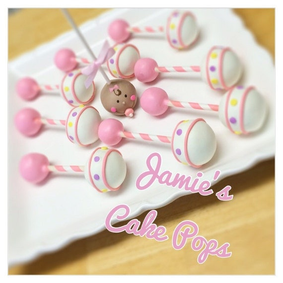 how to make baby rattle cake pops that rattle