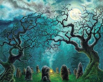 "Samhain 11""x14"" Signed Print"