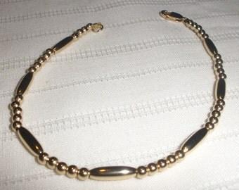 Gold Rice Beaded Bracelet