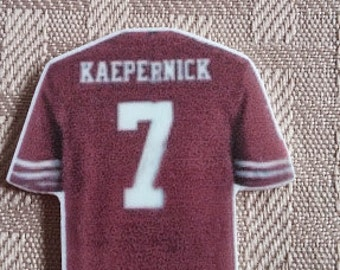 Kaepernick Resin- hair bow center- crafting centers-