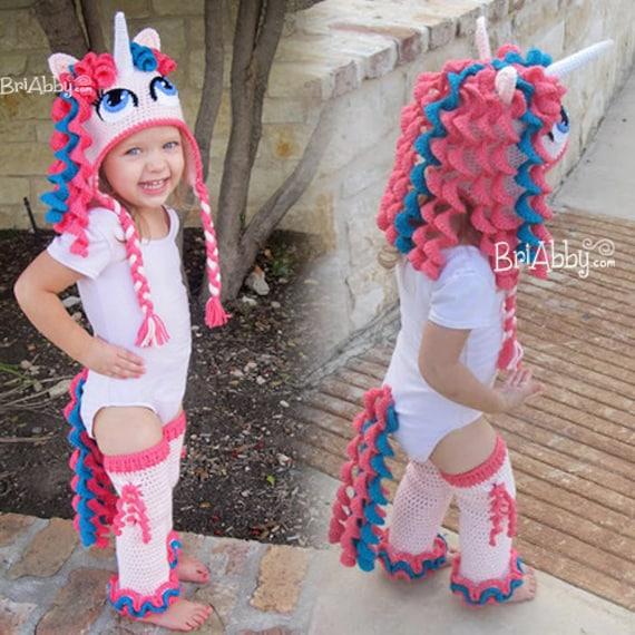 Crochet Pony Hat Pattern Crochet Unicorn / Pony Hat