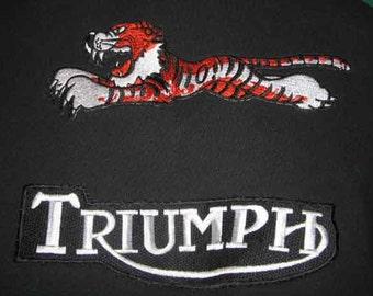 Triumph patch jacket