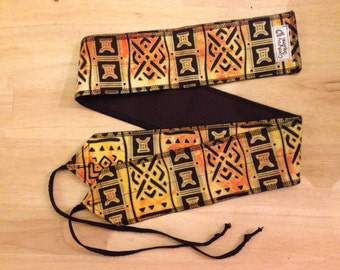 African Inspired cross fit Wrist Wraps