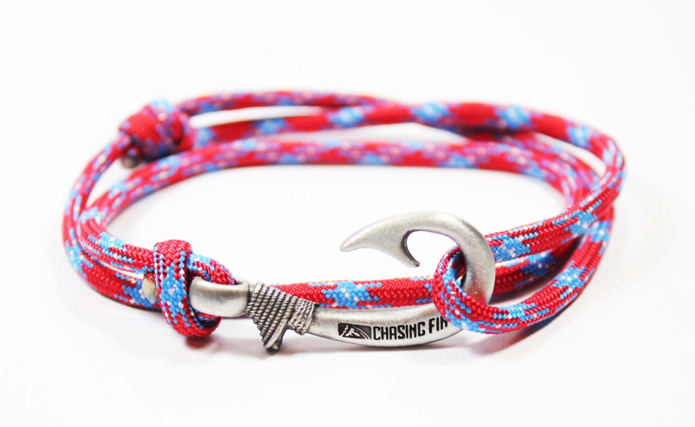 new adjustable paracord hook bracelet southern