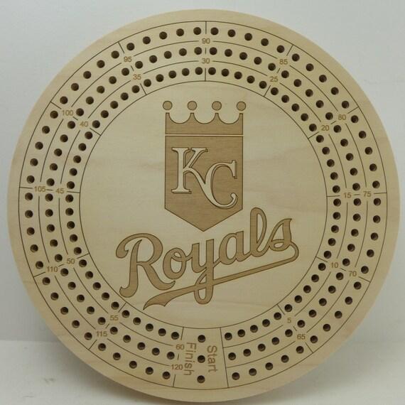 Major League Baseball Cribbage Board