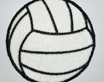 Iron-On Patch - VOLLEYBALL