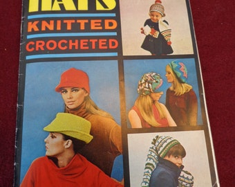 American Thread Star Book No. 206 HATS -Knitted and Crocheted