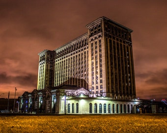 Detroit Photography, Michigan Central Station