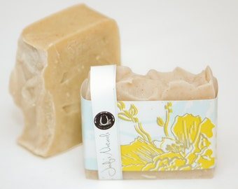 Patchouli Tangerine with Rhassoul Clay Soap, Vegan, Cold Process Soap, Hand crafted, Victoria BC, Vancouver Island