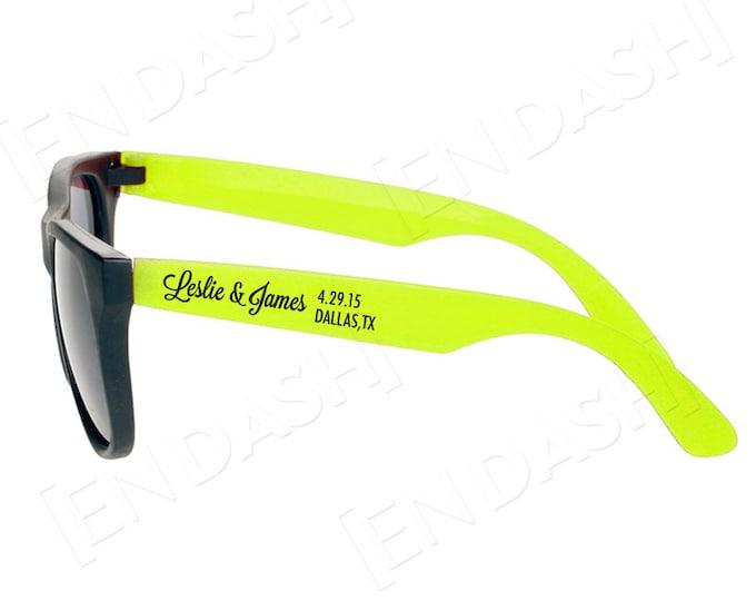 Custom SAVE THE DATE Sunglasses