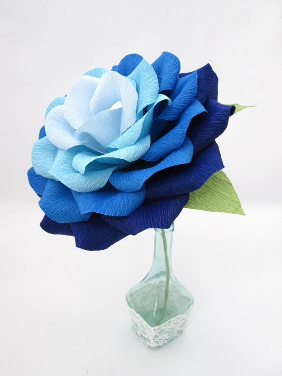 giant paper flower   ombre paper rose  wedding decoration
