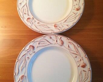 Italian Salad Plates--Set of 2