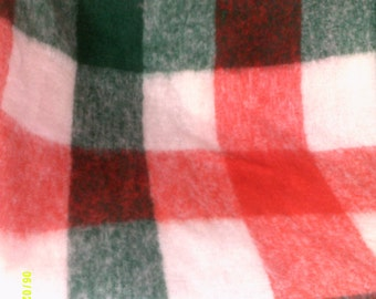 Vintage Wool Mohair Fringed Throw Blanket, Made in Italy, Mohair Fringed Throw, Wool Throw, Afghan Throws, Wool Blankets, Wool Decor Throw