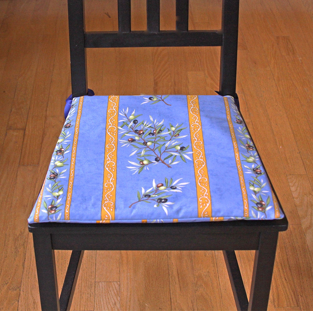 Indoor Dining Room Chair Cushions: Dining Chair Cushion Water Resistant Provence Indoor Outdoor