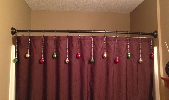 Christmas Shower Curtain Hooks