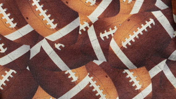 Football Crib Sheet : Football fitted crib sheet baby toddler bed