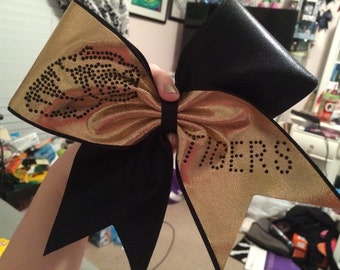 Tigers Cheer Bow