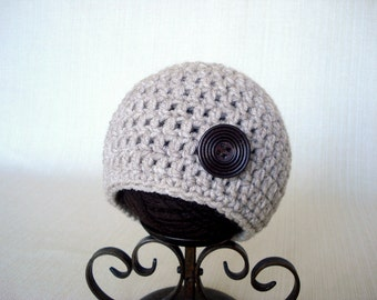 Newborn boy Photo prop hat Baby boy hat Crochet newborn hat Baby boy beanie Newborn baby boy Photography Crochet baby hat Newborn beanie