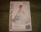 "Beautiful designs uncut patterns for 16"" Ellowyne Wilde doll-resale"