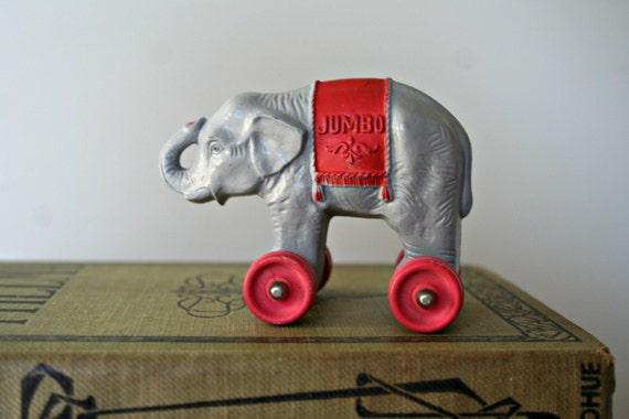 Tiny Jumbo The Elephant Plastic Elephant Toy Elephant On