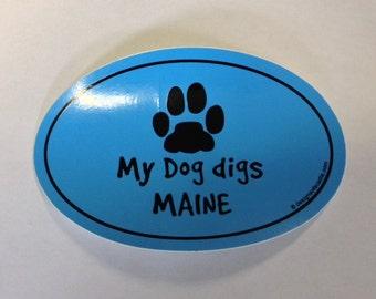oval dog sticker etsy. Black Bedroom Furniture Sets. Home Design Ideas