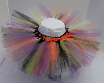 Halloween Tutu IV for baby girl   Fits sizes 0-24 months