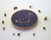 "Capricorn 5"" Embroidery"