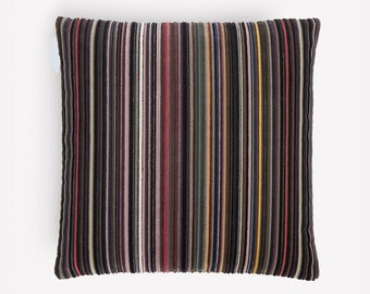 "Paul Smith ""Epingle Stripe Violet"" - Maharam - Pillow -17"" X 17"" inc"