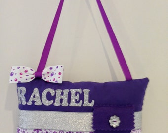 Personalised Tooth Fairy Pillow - Girls Floral Design