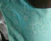 Oxytocin Turquoise and Brown Cotton Mei Tai Baby Carrier, Geeked Out Baby Gear, Teal Baby Sling, Oxytocin Baby Wrap, cotton baby sling