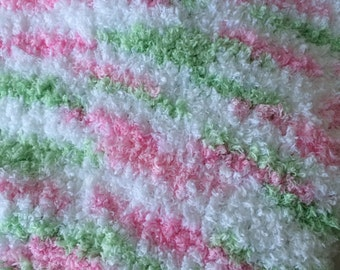Soft and Cuddly Knitted Baby/Toddler Blanket