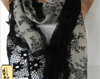 Fashion Scarf- Trend Scarf- Shawls-Scarves- Scarf-Fashion accessories- for her- christmas gift