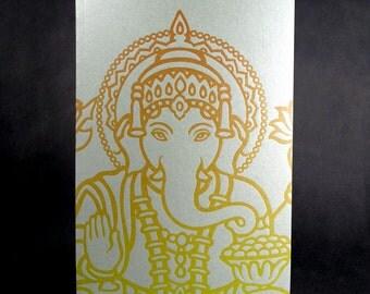 Ganesha Sketchbook - Letterpress cover