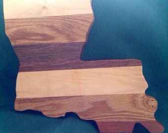 Louisiana cutting board.
