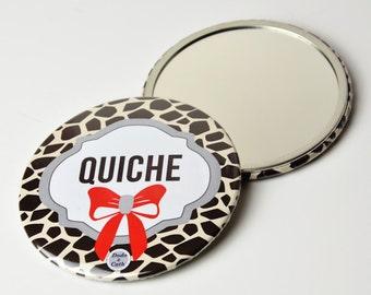 Pocket mirror 3 Inches - Quiche - DC