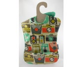 Lights, Cameras, Action in this waterproof toddler bib (Ready to ship)