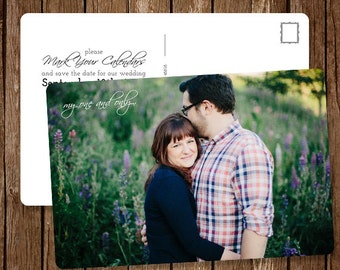 One and Only Post Card Save the Date