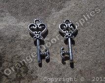 Key Charm 20mm x 9mm- 10 pcs (MWC130)
