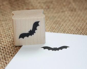 Bat Rubber Stamp