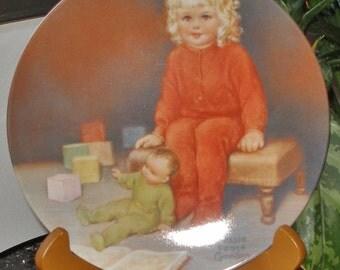 BESSIE PEASE GUTMANN Collector Plate 1982