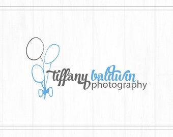 Hand Drawn Premade Photography Watermark + Logo