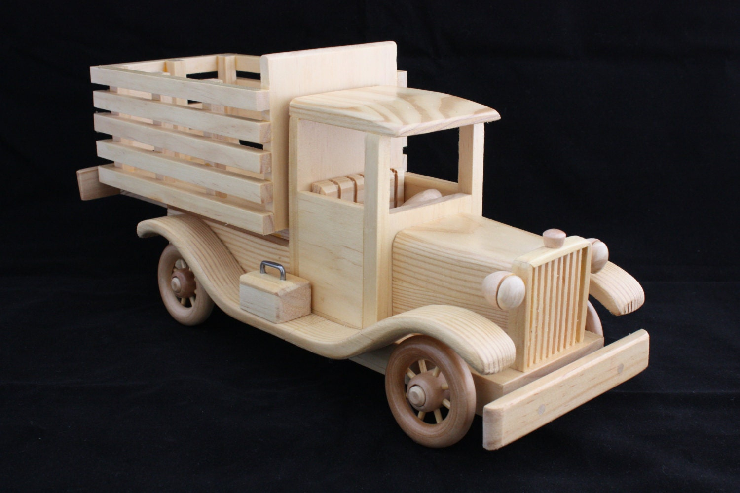 Marvelous photograph of Wooden Stake Bed Truck by PlayOnWoods on Etsy with #936638 color and 1500x1000 pixels