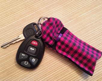 Key Chain Pocket for essential oil, Chapstick or Flashdrive