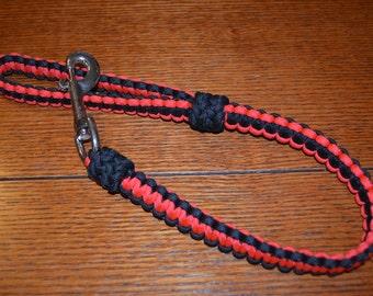 Paracord Leash - 2 foot long - Custom made
