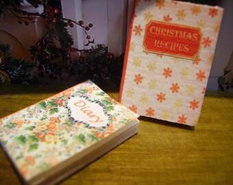 Christmas Recipes Miniature Book 1:12