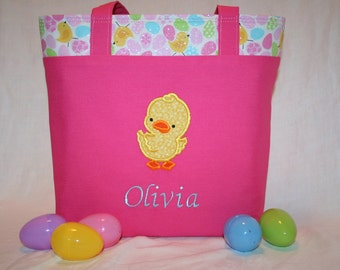 Personalized Easter Bag (Serveral colors and styles available)