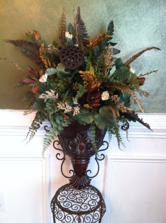 Elegant Traditional Italian Old World Decor by ... on Silk Flower Wall Sconces Arrangements id=80863