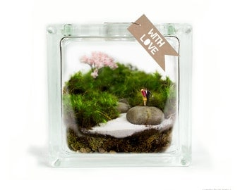 Moss Terrarium // Couple // It Moss-ta Been Love