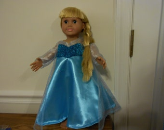 Elsa doll Dress from the movie Frozen