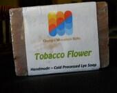 Tobacco Flower Homemade Goat Milk Soap Bars